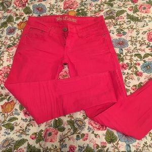 Wallflower Pink Skinny Jeans